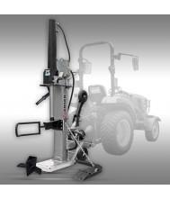 Houtklover Jansen TS-30, 30 t (aftakas), Kloofmachine, stamlift Houtklover