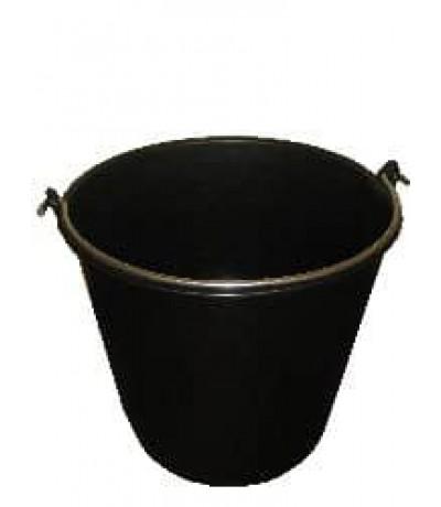 Emmer 20 l. zwart Emmers & kuipen