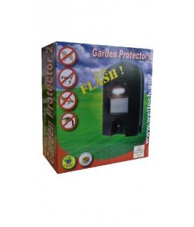 Weitech garden protector 2 ultrasoon en flits Ongediertebestrijding