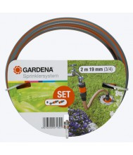 Gardena 'profi' maxi-flow system aansluitgarnituur