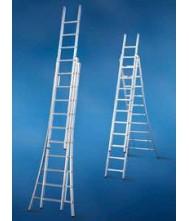 SOLIDE LADDER 3* 8 SPORTEN UITGEBOGEN VOET Reform Ladder