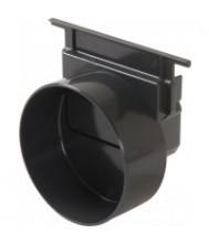 Unidrain horizontaal eindstuk / uitloop 110mm