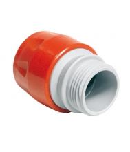 """SNELKOPPELING MET UITWENDIGE DRAAD 1/2"""" (PVC) Koppelingen"""