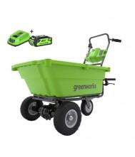 Greenworks Accu Kruiwagen 40V Met 2.0Ah Accu en lader