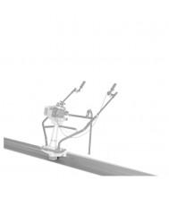 Lumag trilbalk 350cm Beton-trilbalk