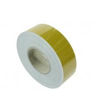 KSG Reflec. tape 50mm x 50mtr. geel E-keur Tape & isolatie