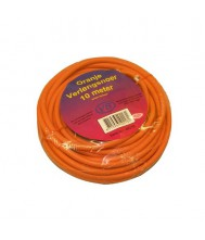 Verlengsnoer 10 meter 2x1mm h05vv-f oranje oranje vb extend