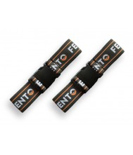 Set elastieken met clip voor Fento kniebeschermer 200 en 200 pro (2 st