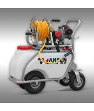 Jansen MGS-50 Spuitmachine, veldspuit, motorspuit Spuitmachine