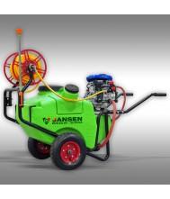 Jansen MGS-100 Spuitmachine, veldspuit, motorspuit Spuitmachine