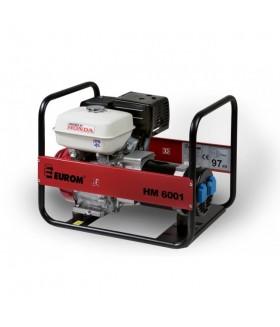 Eurom HM6001 Benzine Aggregaat Honda 8,5 pk.