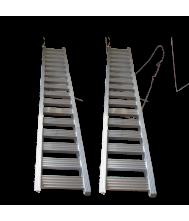 Oprijplank ALU 2,5 ton, 3,5 meter per stuk