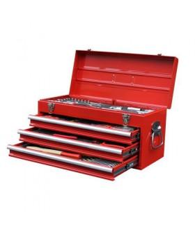 Seneca gereedschapskist 3 laden 116 delig in foam Gereedschapskist/koffer