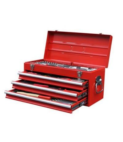 Seneca gereedschapskist 3 laden 116 delig in foam