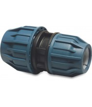 JASON verloopkoppeling PP 25 MM X 20 mm knel 16bar zwart/blauw DVGW/KI
