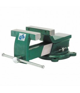 Bankschroef 100 mm Greenline draaibaar