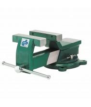 Bankschroef 125 mm Greenline draaibaar