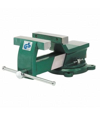 Bankschroef 125 mm Greenline draaibaar Bankschroef