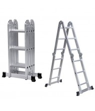 Euroline Vouwladder Premium-line 4x3 Treden Reform Ladder