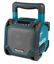 Makita Bluetooth speaker met mediaspeler DMR202 zonder accu en lader Bouwradio