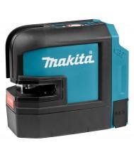 Makita Kruislijn Laser Rood SK105DZ zonder accu en lader Meetgereedschap