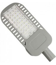 V Tac LED Straatlamp SLIM 50W 6400K grijs Led Armatuur