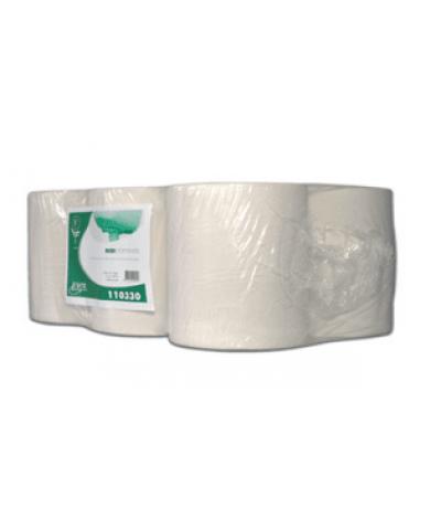 Poetspapier midi euro cellulose eco 1 laags 300 m x 20 cm per rol Papier & dispencers