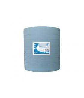 Europroducts industrie papier blauw 1x 400 m 37 cm Papier & dispencers