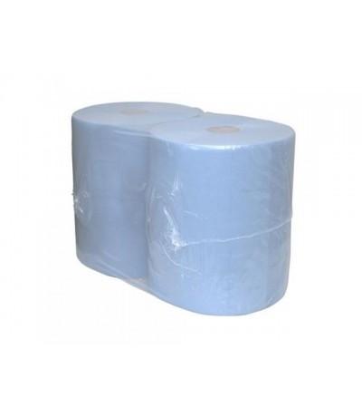 Europroducts industrie papier blauw 2x 190 m 37 cm