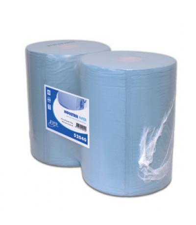 Europroducts industriepapier blauw 1x 190 m 37 cm