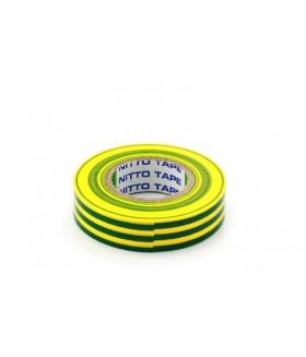 Nitto Tape Geel/Groen 10m 15mm Per rol