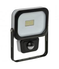 Nova LED straler SL410s Slimline 10W 4000K 900 lumen +Sensor Led Bouwlamp