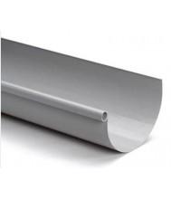 Nicoll PVC Mastgoot 170mm, 4mtr lengte, grijs Dakgoten