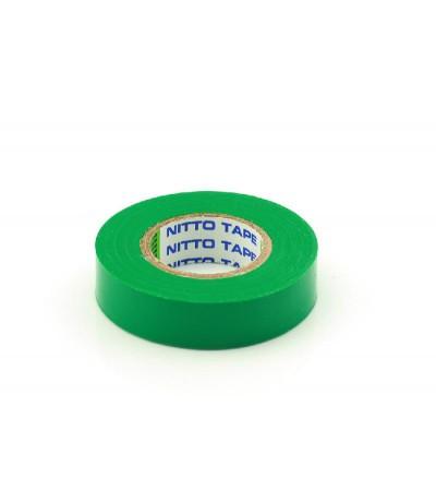 Nitto Tape Groen 10m 15mm Per rol Tape & isolatie