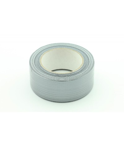 Extra stevige tape 50mm x50mtr(duct-tape) grijs....