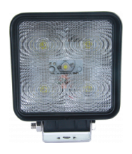 KSG Led werklamp (10-30 volt) 15 watt Radio Ontstoord Werklampen 12V/24V