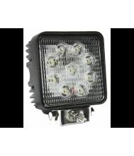 KSG LED Werklamp 27W 9 leds Radio Ontstoord Werklampen 12V/24V