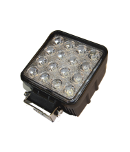 KSG LED Werklamp 48W 16LEDS Radio Ontstoord Werklampen 12V/24V