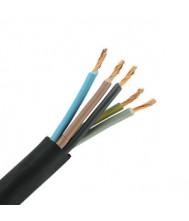 Neopreen kabel 5x4mm² Per meter Kabel