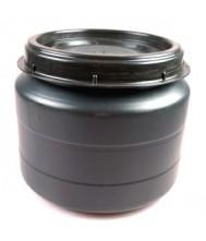 Voerton -MM- met schroefdeksel 25 liter Voertonnen