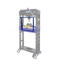 Mammuth Veiligheidsscherm voor werkplaatspers 50 ton SP50HAM Werkplaats pers