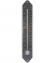 Thermometer 50cm, Metaal gegalvaniseerd Thermometers