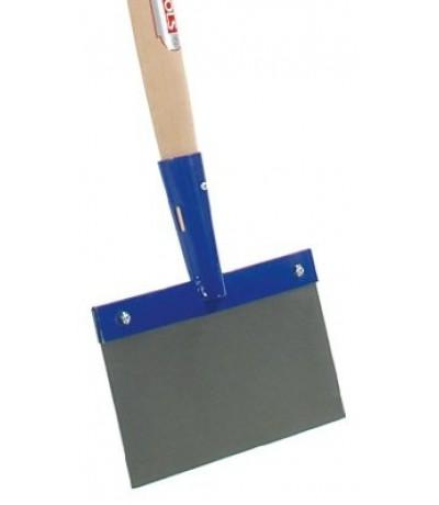 Betonschraper 15cm met steel 130cm, Talen Tools Tuingereedschap