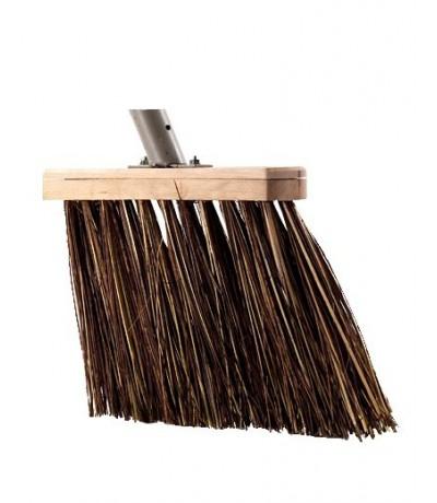 Bedrijfsbezem bruin 31cm, Talen Tools Tuingereedschap