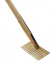 Asfalthark 10 rechte tanden met steel 160cm, Talen Tools Tuingereedschap