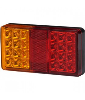 KSG led achterlicht 12/24v rechthoekig Aanhanger verlichting LED