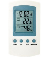 Thermometer digitaal, binnen/buiten Thermometers