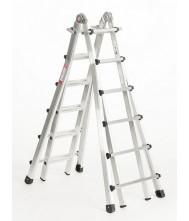 Telescoopladder 4x6 treden Euroline Vario Telescoop Ladder