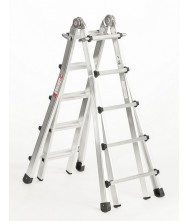 Telescoopladder 4x5 treden Euroline Vario Telescoop Ladder