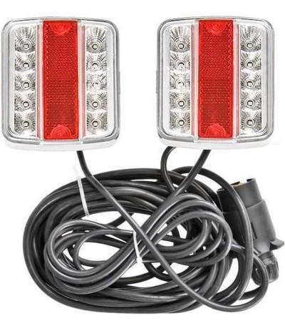 Verlichtingsset + magneet 7,5 meter LED Aanhanger verlichting LED